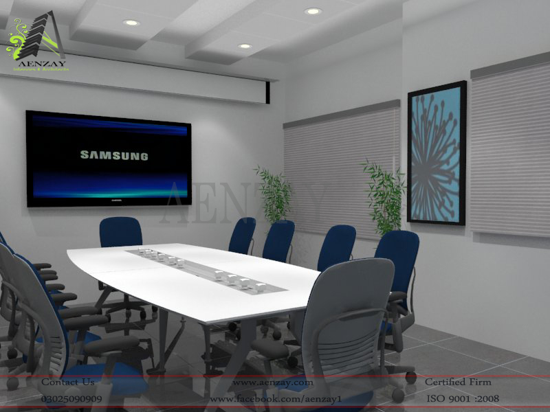 Ascertia Software House Meeting Area Designed By Aenzay